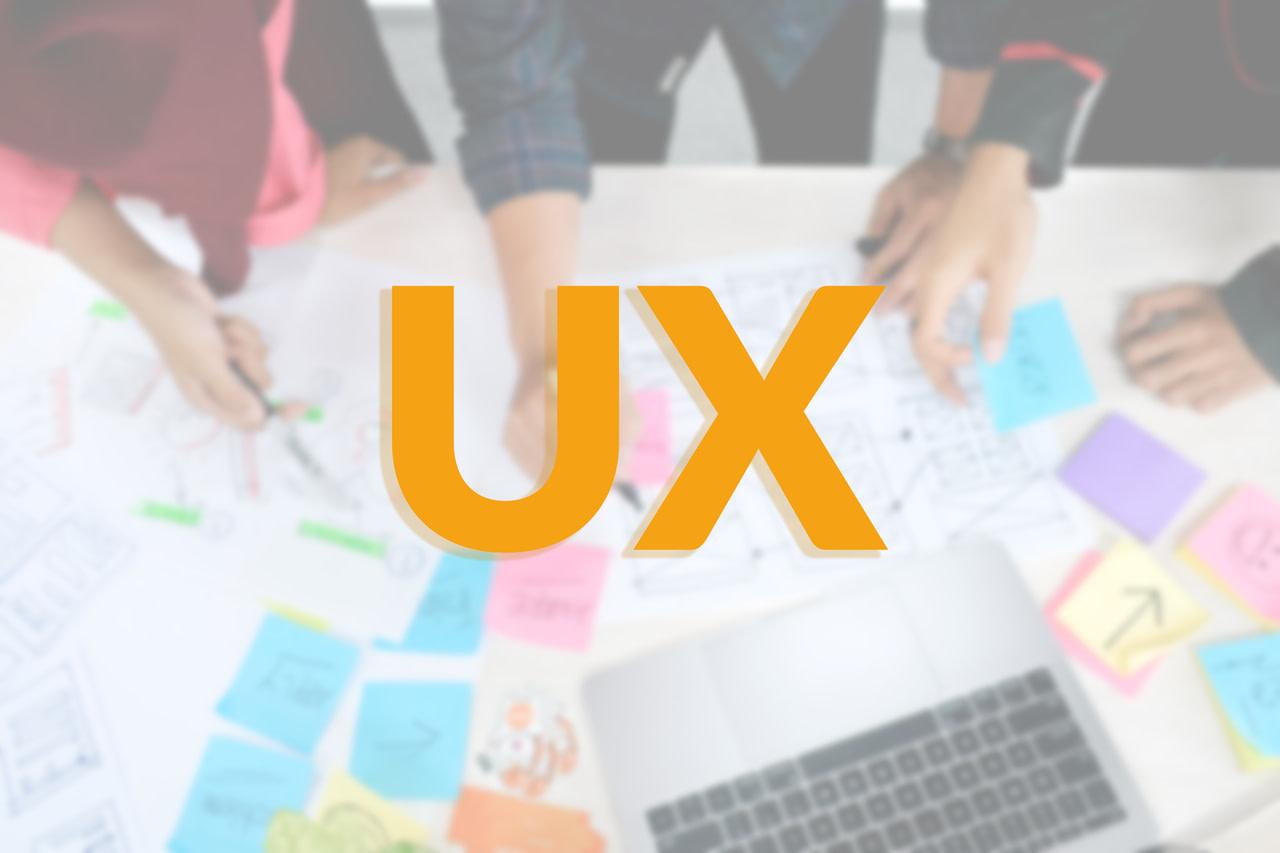Ilustração com a proposta de aplicar o UX Design no site da imobiliária.