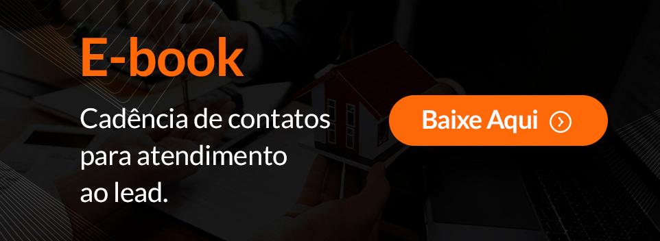E-book Cadência de contatos para atendimento ao lead.